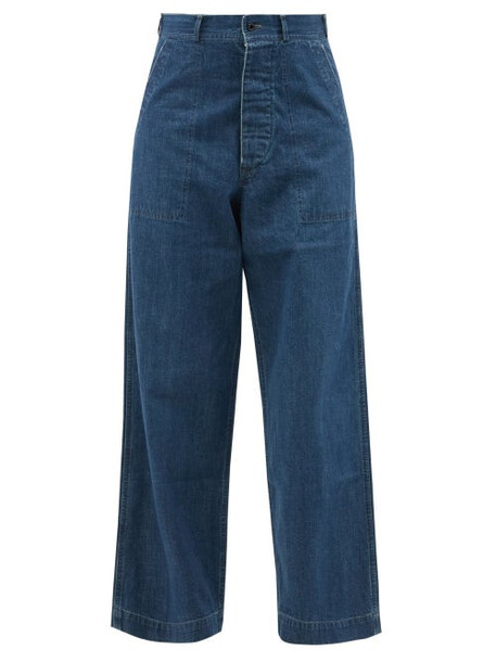 Chimala - High-rise Wide-leg Jeans - Womens - Mid Denim