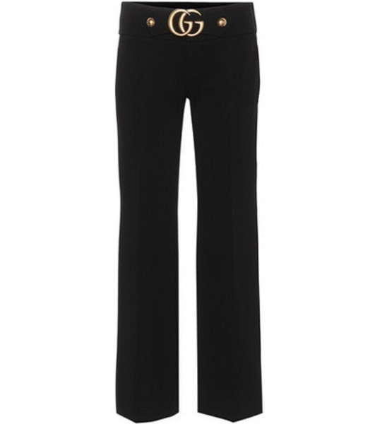 Gucci Cropped trousers in black