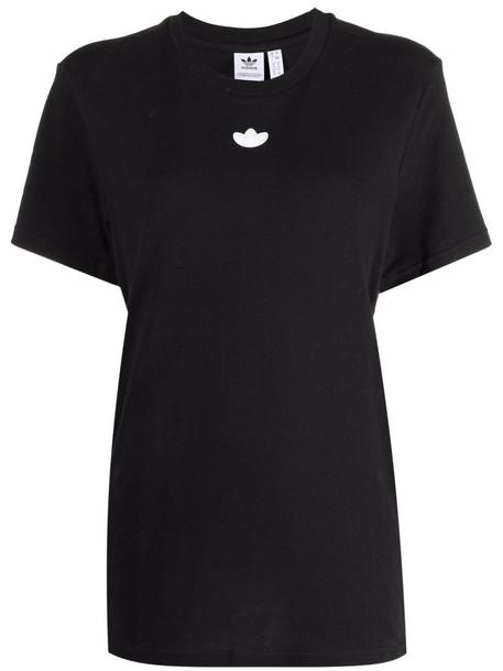 adidas Kids loose piping T-shirt - Black