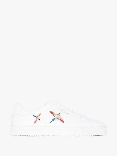 Axel Arigato White Clean 90 bird leather sneakers