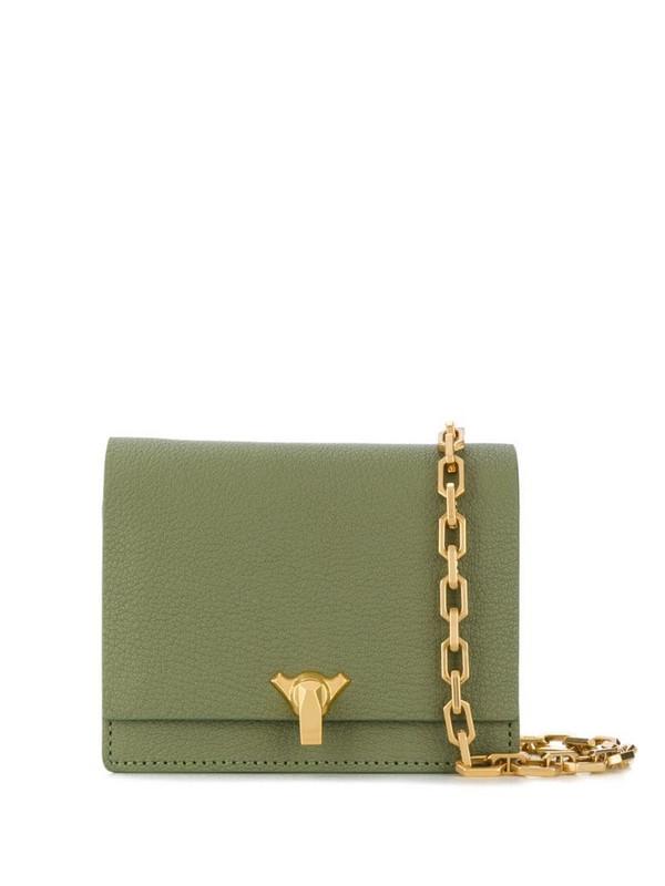 The Volon Po Pocket mini bag in green
