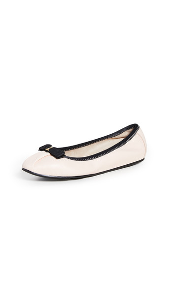 Salvatore Ferragamo My Joy Ballet Flats in black