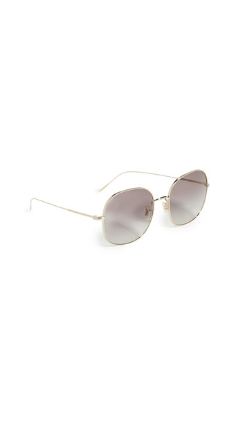 Oliver Peoples Eyewear Mehrie Sunglasses in gold / grey