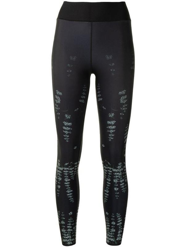 Ultracor Forest print leggings in black