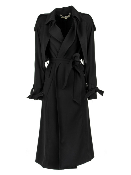 Michael Kors Belted Trench Coat in black