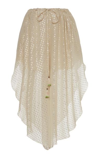 Etro Metallic Polka Dot Shorts Size: 40 in neutral