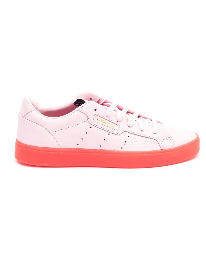 Adidas Adidas Sleek Leather Sneakers in pink