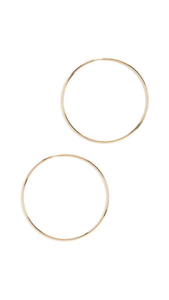 Maria Black Senorita 70 Hoop Earrings in gold
