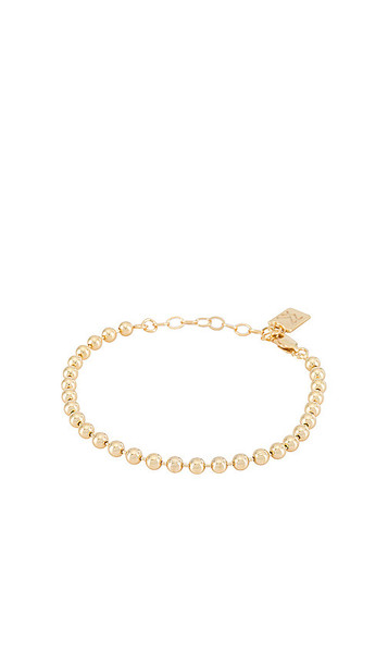 MIRANDA FRYE Fashion Jackson Bracelet in Metallic Gold