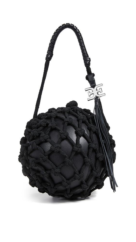 Sam Edelman Robyn Caged Ball Bag in black