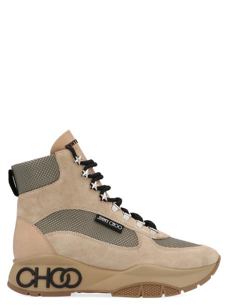 Jimmy Choo trekking Shoes in beige