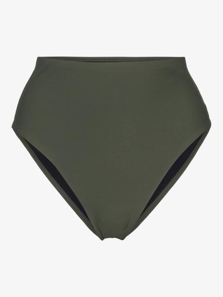 Bondi Born Paloma high waist bikini bottoms in green