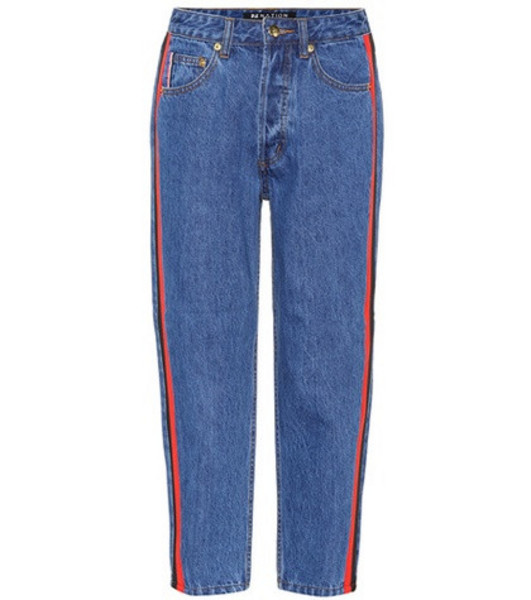 P.E Nation Season Lifetime cropped jeans in blue