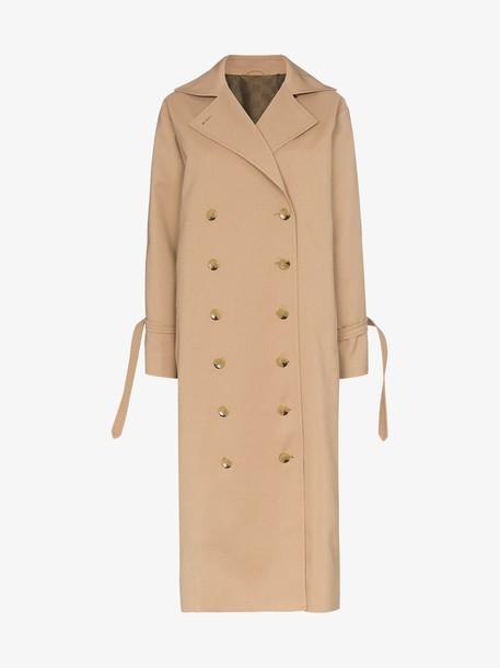 Toteme pisa trench coat in khaki