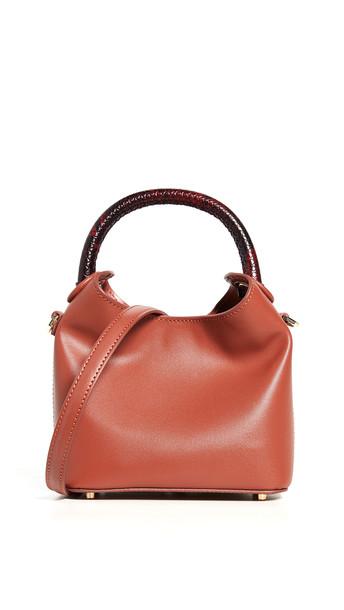 Elleme Madeleine Bag in brick / red