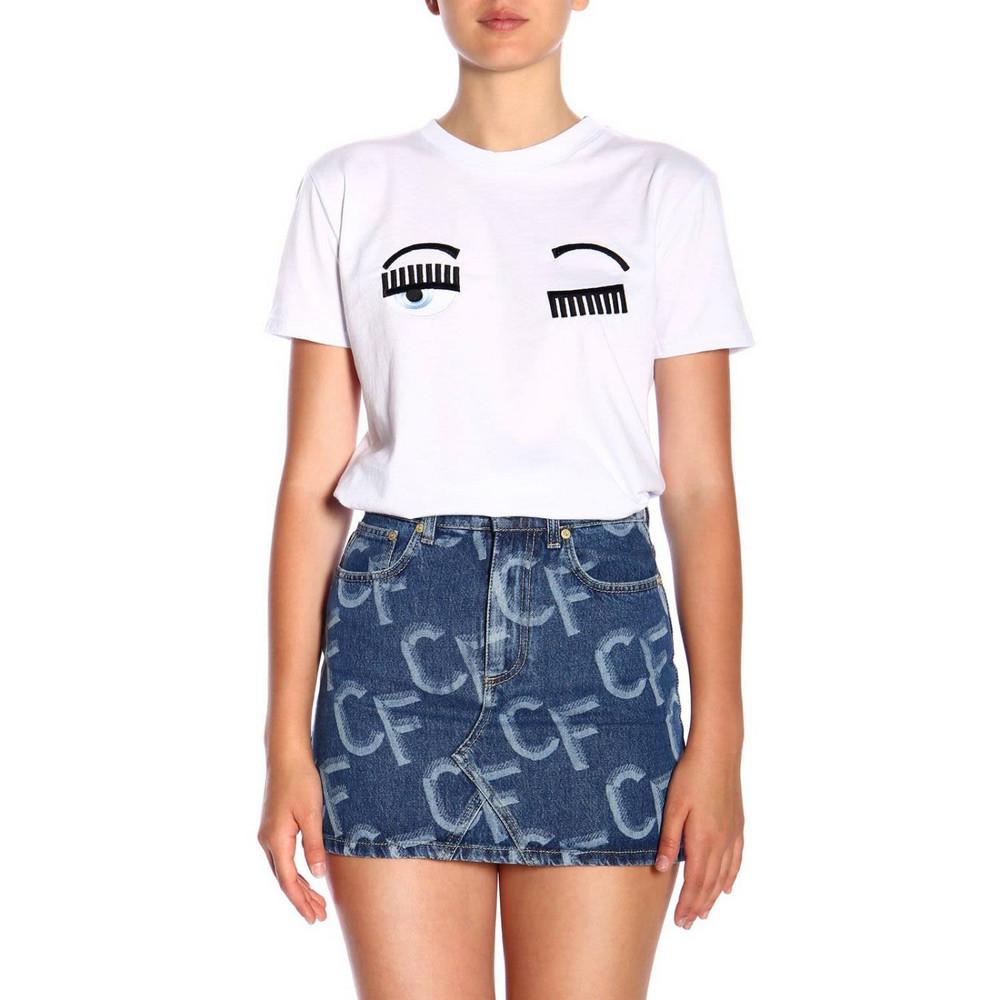 Chiara Ferragni T-shirt T-shirt Women Chiara Ferragni in white