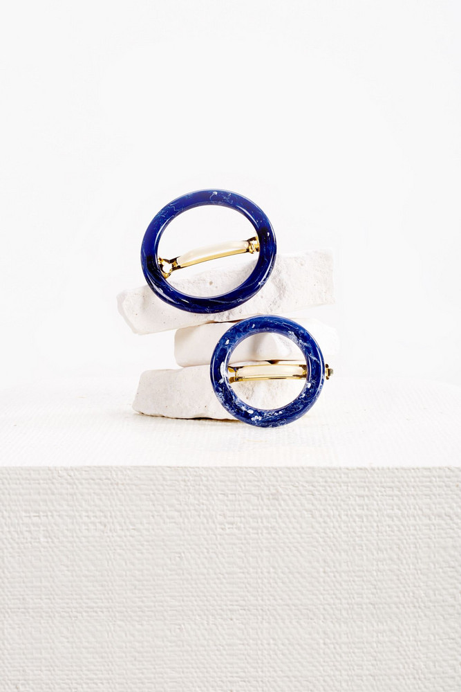 Cult Gaia Ria Barrette Set - Midnight                                                                                               $88.00