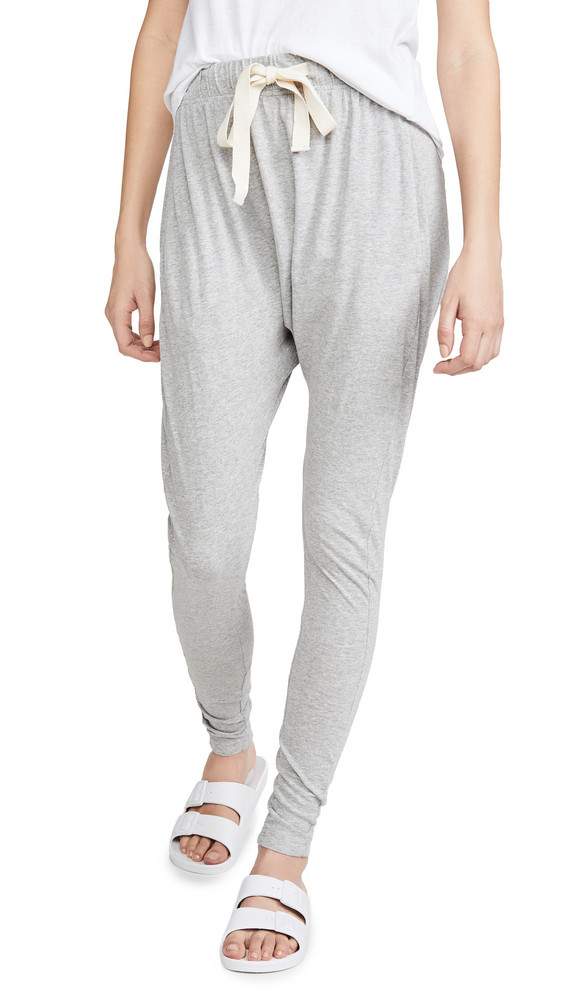 Bassike Slouch Jersey Pants in grey