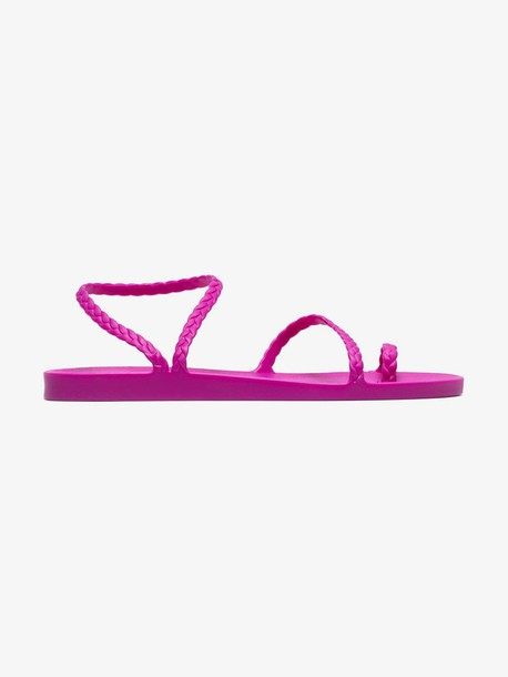 Ancient Greek Sandals pink Eleftheria jelly sandals
