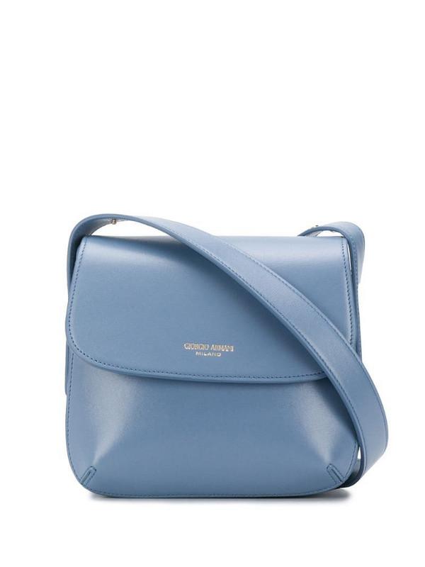 Giorgio Armani la Prima crossbody bag in blue