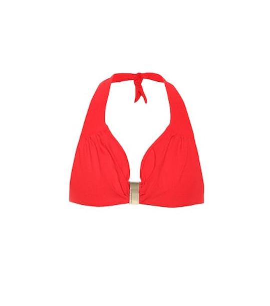 Melissa Odabash Provence bikini top in red