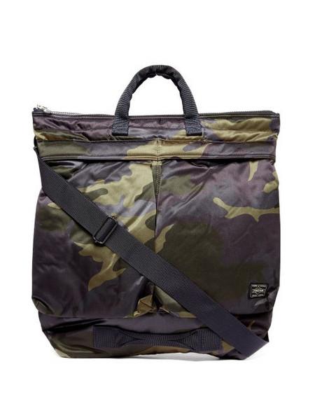 Porter-Yoshida & Co. Porter-yoshida & Co. - Counter Shade Camouflage-print Tote Bag - Womens - Khaki Multi