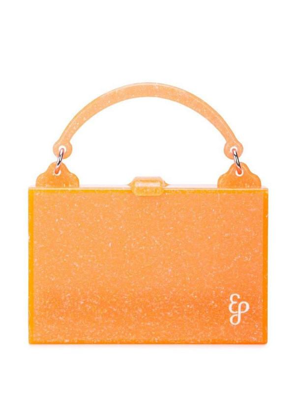Edie Parker small box bag in orange