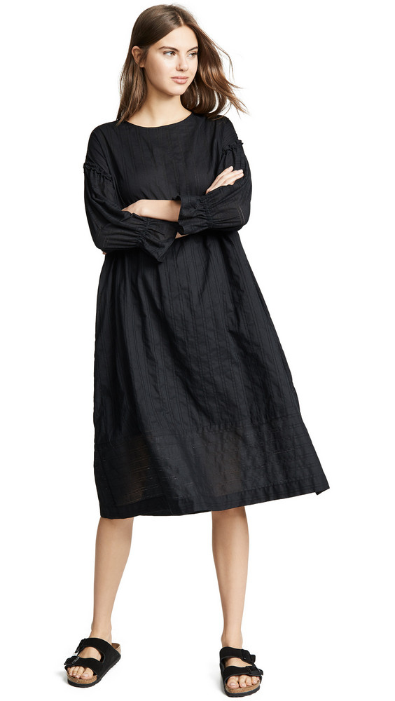 M.PATMOS Piura Dobby Dress in black