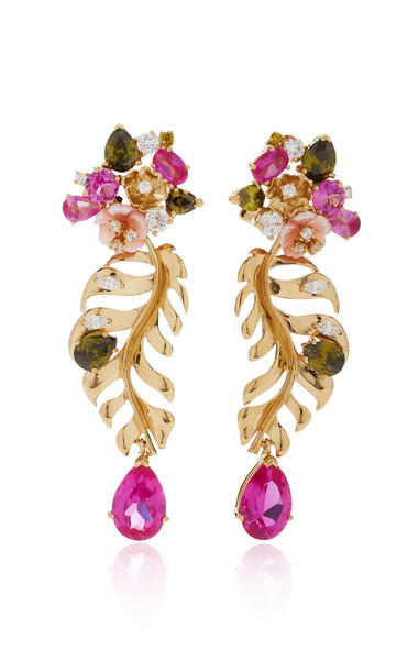 Anabela Chan 18K Gold Vermeil And Multi-Stone Earrings