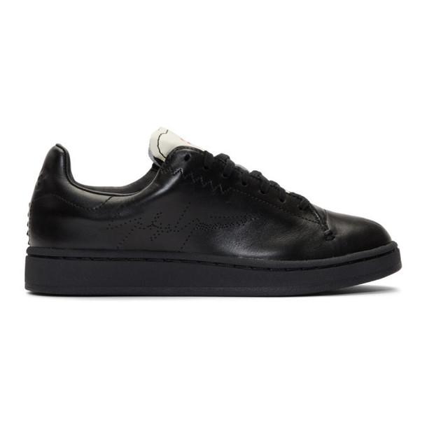 Y-3 Black Yohji Court Sneakers