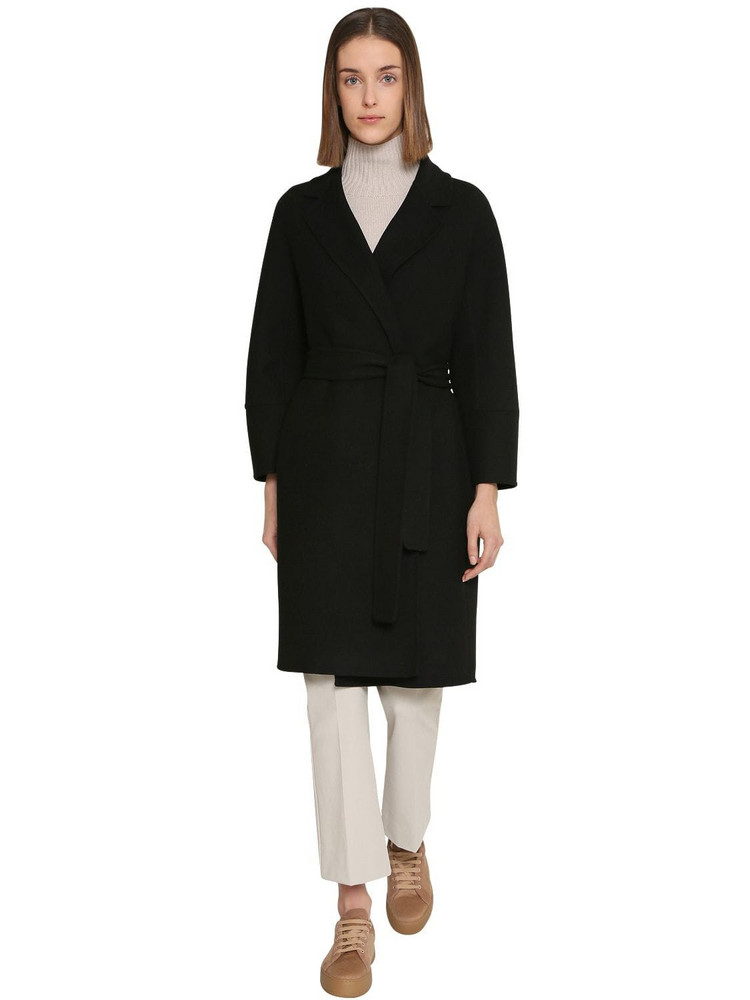 MAX MARA 'S Arona Wool Coat in black