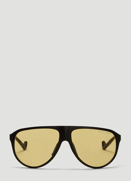 District Vision Yukari Tinted Sunglasses in Yellow size One Size