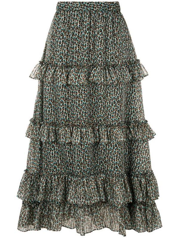 Philosophy Di Lorenzo Serafini high-waist cascading ruffle skirt