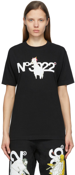 Aitor Throup's TheDSA SSENSE Exclusive Black 'N.3022' T-Shirt