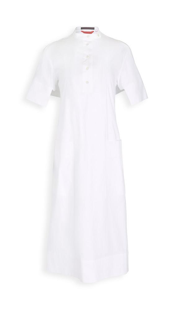Eckhaus Latta Cascade Dress in white