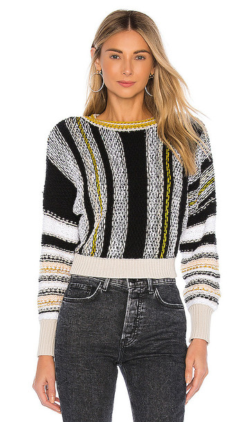 Free People Show Me Love Pullover in Black
