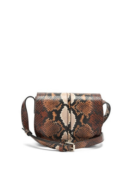 A.P.C. A.P.C. - Betty Python-effect Cross-body Bag - Womens - Python