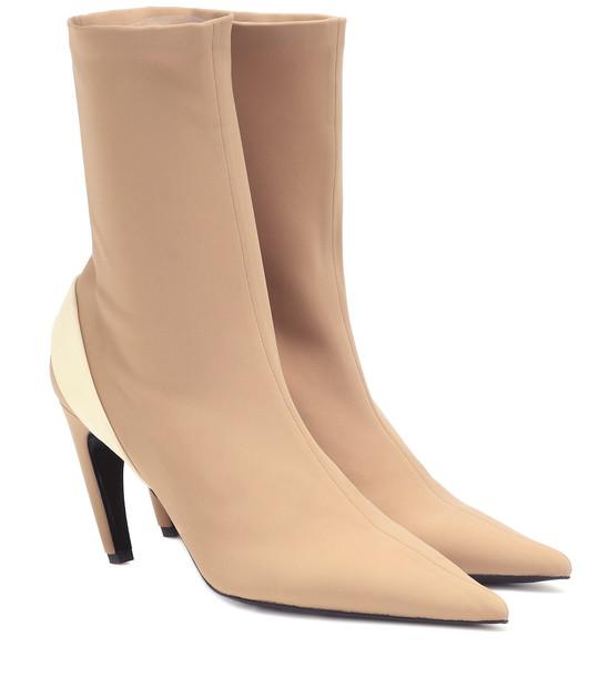 Proenza Schouler Sock boots in beige
