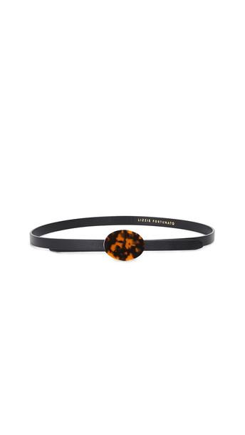 Lizzie Fortunato Orbit Belt in black