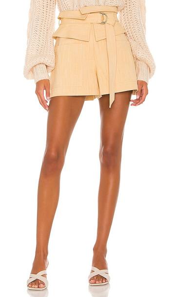 Alexis Thatcher Shorts in Cream