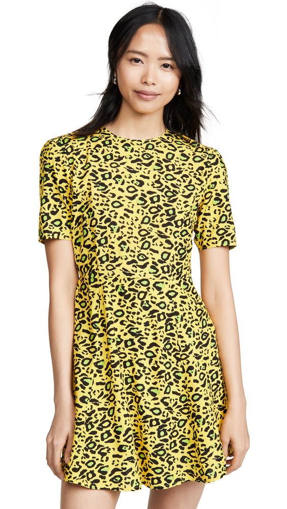 Valencia & Vine Gio Dress in print / leopard
