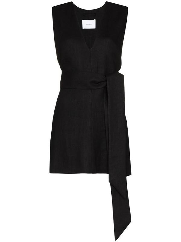 Bondi Born V-neck mini dress in black