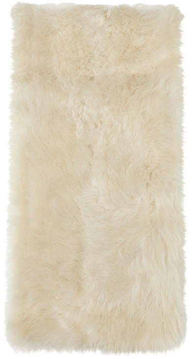 Peter Do Shearling Scarf in natural
