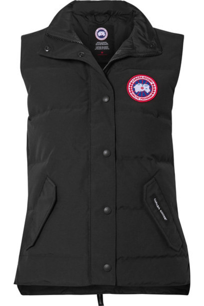 Canada Goose - Freestyle Quilted Shell Down Vest - Black