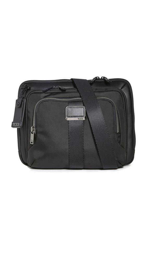 TUMI Alpha Bravo Jackson Crossbody Bag in black