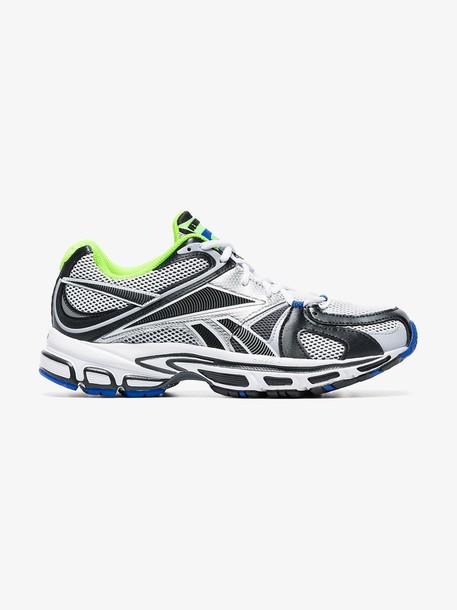 Vetements grey Spike Runner 200 fluro trim sneakers
