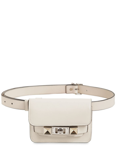PROENZA SCHOULER Ps11 Smooth Leather Belt Bag in khaki