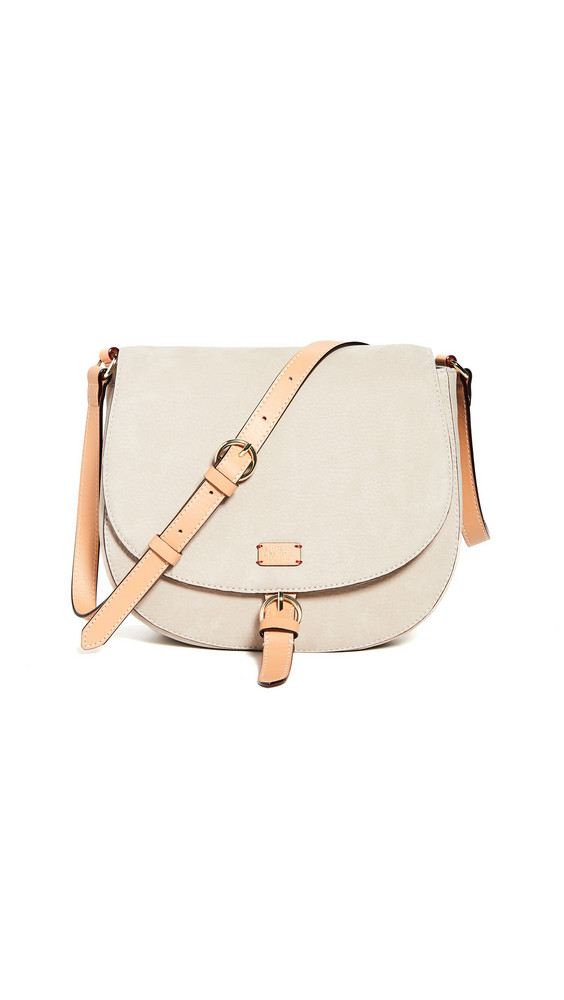 Frances Valentine Ellen Saddle Bag in stone