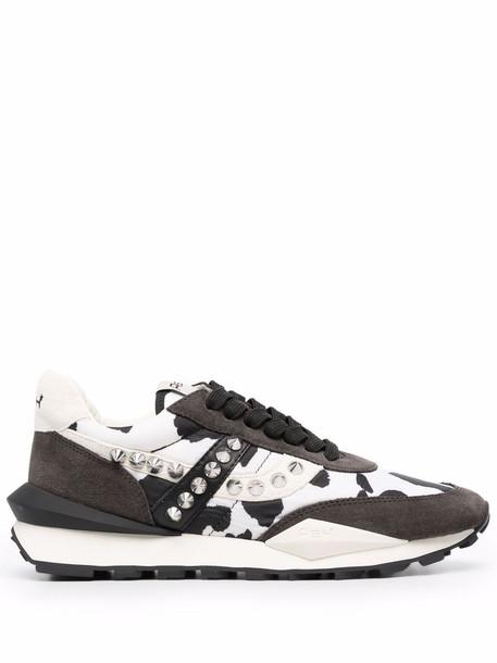 ASH cow print sneakers - Grey