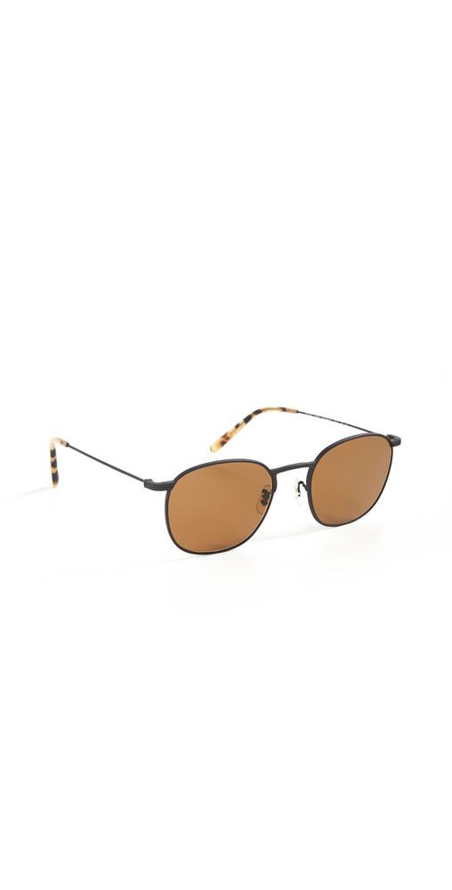 Oliver Peoples Eyewear Goldsen Sun Sunglasses in black / brown